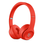 Beats Solo3 Wireless Red On-Ear Headphones | Up to 40 hours of battery Life | Apple W1 Technology | Award-Winning Sound | 5 minute charge = 3 hours of playback