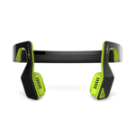 Aftershokz Bluez 2S Wireless Bone Conduction Bluetooth Headphones, Neon Green