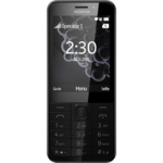 "Nokia 230 Dual SIM (Dark Silver) 2.8"" TFT 240x320/ 16MB RAM/ Camera(primary)  2 MP, LED flash, Camera(secondary) 2 MP, 480p, LED flash, Video 240p@15fps/ microSD, up to 32 GB/ microUSB 1.1, BT/ 124.6 x 53.4 x 10.9 mm / 91.8g"