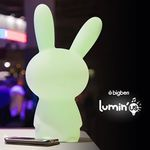 Lumin'us Rabbit Bluetooth Garsiakalbis Baltas