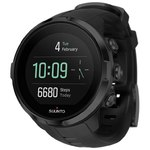 Suunto Spartan Sport Wrist HR All Black GPS watch with color touch screen and wrist heart rate