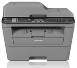 Brother MFC-L2700DW Multifunction Laser Printer with Fax / A4 / Up to 26ppm / Duplex / 35 Sheet ADF / 250 Sheet Tray / Wired & Wireless Network / USB2.0