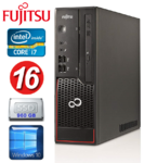 Fujitsu Esprimo C710 SFF  Intel i7-3770 3.4-3.9GHz 4Core/8Threads | DDr3 16GB | 960GB SSD | Intel® HD Graphics 4000 | DVDRW | Windows 10 Home | RENEW