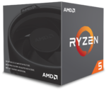 AMD Ryzen 5 1600, Hexa Core, 3.20GHz, 19MB, AM4, 65W, 14nm, BOX (su aušintuvu)
