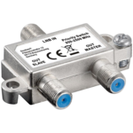 Goobay SAT priority switch - distributes 1 LNB to 2 SAT Receivers 51445