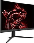 MSi Optix G24C4 144Hz lenktas GAMING LED monitorius su VA technologija | 23.6 colių | FULL HD (1920x1080) | Kontrastas: 100 000 000:1 | Reakcijos laikas: 1ms | Peržiūros kampas: 178°/178° | Jungtys: DisplayPort, HDMI, Earphone out | Tilt, VESA, Kensington lock