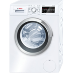 Bosch WLT24440BY  Washing Machine/Depth 45cm/Big LED Display/6.5Kg/1200RPM/EC A+++/EcoSilence Drive/VarioSoft/AllergyPlus/ECARF/DrumClean/ActiveWater/3D AquaSpar/EcoPerfect/VarioPerfect/SpeedPerfect/White