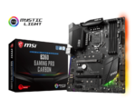 MSI B360 GAMING PRO CARBON, LGA 1151, RGB Mystic Light,  4xUSB 3.1, 1xUSB type C, AUDIO BOOST 4 with NAHIMIC