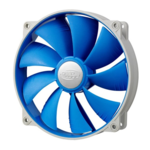 Deepcool UF 140 BLUE Ultra silent fan 140mm with PWM and De-vibration TPE cover