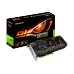 Gigabyte GeForce® GTX 1080 G1 Gaming 8G, Backplate, RGB, Factory OC