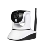 ZIPATO IP Camera, Indoor, Pan Tilt, 720p, Pan-Tilt-Zoom, Wi-Fi, PIR motion sensor, Mic, 3.5mm speaker out, 12 LED, 6m night vision