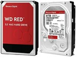 WD Red 8TB SATA 6Gb/s 256MB Cache Internal 3.5inch 24x7 5400Rpm optimized for NAS (Naudotas 3mėn.)