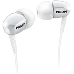 Philips SHE3600, In-Ear headphones, neckstrap, neckband headphone, speakers size - 15 mm, frequency 12-22000 Hz, impediance - 16 Ohm, sencivity - 106 dB.