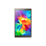 "| Išpakuotas | Samsung Galaxy Tab S T700 (Bronze) 8.4"" Super AMOLED 1600x2560/ 1.9 GHz, 1.3 GHz Quad-core/16GB/3 GB RAM/ Android 4.4.2/ Camera(primary) 8 MP, 3264 x 2448, autofocus, LED flash, Camera(secondary) 2.1MP, Video 1080p@30fps/ MicroSD up to 128GB/ microUSB , USB, WiFi, BT/ 212.8 x 125.6 x 6.6 mm/ 294g"