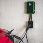 Green Cell EV15RFID, Wallbox GC EV PowerBox 22kW charger with Type 2 socket and RFID for charging electric cars and Plug-In hybrids, 32 A
