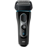 Braun Shaver 5147PS Cordless, Charging time 1 h, Wet use, Li-Ion, Number of shaver heads/blades 2, Black