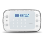 Smanos X500 White, GSM/SMS/RFID Touch Alarm System