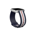 Fitbit  Versa-Lite Woven Hybrid Band, small, navy/pink