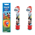 Oral-B Mickey Mouse  EB-10  Warranty 24 month(s), Replacement Heads For Toothbrush Extra Soft for kids, Number of brush heads included 2