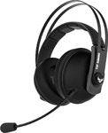 ASUS TUF Gaming H7 - Core Gun Metal - PC and PS4 gaming headset with onboard 7.1 virtual surround and upgraded ear cushions for eyewear comfort