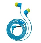 Trust Flash Reflecting In-ear Headphone - cyan blue