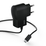 HAMA Charger micro USB 1A Black w/ cable