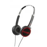 Beyerdynamic DTX 300 p Supraaural Headphones/ Red/Black/ 32 Ohms/ Closed, with Double Sided Cable/ Stereo Mini-Jack/  Stainless Steel Headband