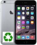 "Apple iPhone 6 16GB Space Gray | Gamykliškai atnaujintas* (Refurbished) | 4,7"" IPS LCD 750 x 1334 pixels 