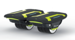 ELECTRIC ROLLERS  Skymaster SKYSHOES LIME GREEN
