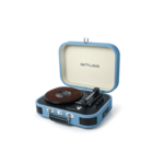 Muse Turntable micro system MT-201BTB USB port, Bluetooth, Wireless connection, AUX in,