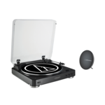 Audio Technica Bluetooth Turntable System + Bluetooth portable speaker