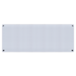 Mill Glass MB1000L DN G Panel Heater, 1000 W, Suitable for rooms up to 16 m², Grey