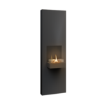Tenderflame Fireplace Rock 90 Diameter 40 cm, 130 cm, 500 ml, Burning time about 5 hours, Black