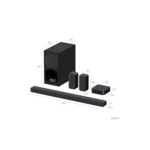 Sony HT-S40R 5.1ch Home Cinema Soundbar with Wireless Rear Speakers