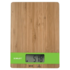 MODELIS: SC-KS57P01<br />Scarlett Kitchen scale SC-KS57P01  Maximum weight (capacity) 5 kg, Graduation 1 g, Display type LCD, Pure bamboo