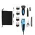 MODELIS: DOS156<br />DomoClip Man grooming set 5 in 1 DOS156 Warranty 24 month(s), Cordless, Operating time 30-45 min, Charging time 8 h, 4 combs for cutting lengths from 3 to 12 mm, Blue/ black