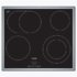 MODELIS: PKN645B17<br />Bosch Hob PKN645B17 Electric, Number of burners/cooking zones 4, Black, Display, Timer