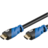 MODELIS: OCH0036V2<br />ACC Premium High Speed HDMI™ Kabel mit Ethernet HDMI A male - HDMI A male, 2.0 version, 1,5 m, black, connect. cab. in retail polybag black, Connection cable, 1,5 m