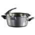 MODELIS: 14275<br />Stoneline Future Cooking pot 14275 6,9 L, 28 cm, Die-cast aluminium, Grey, Lid included