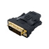 MODELIS: 08737<br />4WORLD 08737 4World Adapter DVI-D [M] (24+1) > HDMI [F], black