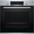 MODELIS: HBA533BS0S<br />Bosch Oven HBA533BS0S Built-in, 71 L, Stainless steel, Eco Clean, A, Push pull buttons, Height 60 cm, Width 60 cm, Integrated timer, Electric