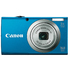 MODELIS: 6193B011<br />CANON PowerShot A2300 16MPix blue 28mm wideangle 5fach opt.Zoom 6,8cm 2,7inch LCD HD-Movies 720p digital IS metal housing