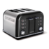MODELIS: 242018<br />Toaster Morphy richards 242018 Black, Stainless steel, 1880 W, Number of slots 4, Number of power levels 7,