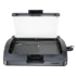 MODELIS: CLOER 6725<br />Barbecue Grill with glass lid CLoer 6725  Black, 2200 W