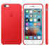 Apple iPhone 6s Plus Leather Case (PRODUCT)RED