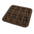 MODELIS: 1196 - 7418<br />Yoko Design Bear mould baking forms Brown, Dishwasher proof