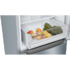 MODELIS: KGN33NLEB<br />Bosch Refrigerator KGN33NLEB A++, Free standing, Combi, Height 176 cm, No Frost system, Fridge net capacity 192 L, Freezer net capacity 87 L, 42 dB, Stainless steel