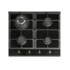 MODELIS: 08028403<br />CATA RCI 631 BK Gas on glass, Number of burners/cooking zones 4, Black,