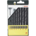 MODELIS: 2607019442<br />Bosch HSS-R Metal Drill Bit Set 10 pc(s)