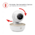 MODELIS: MBP855CONNECT<br />Motorola MBP855connect White,  Wi-Fi Video Baby Monitor, Wireless